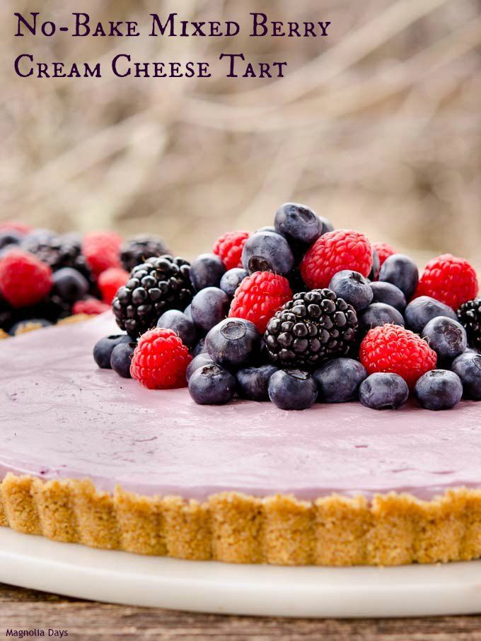 ... with fresh berries. Make it your next celebration. #SundaySupper