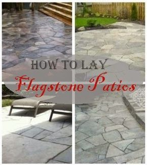 25 best ideas about how to lay flagstone on pinterest. Black Bedroom Furniture Sets. Home Design Ideas