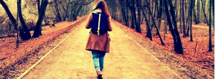 Life is a journey  #backpack #girl #road #lifeisajourney #canvasbackpack #amazing