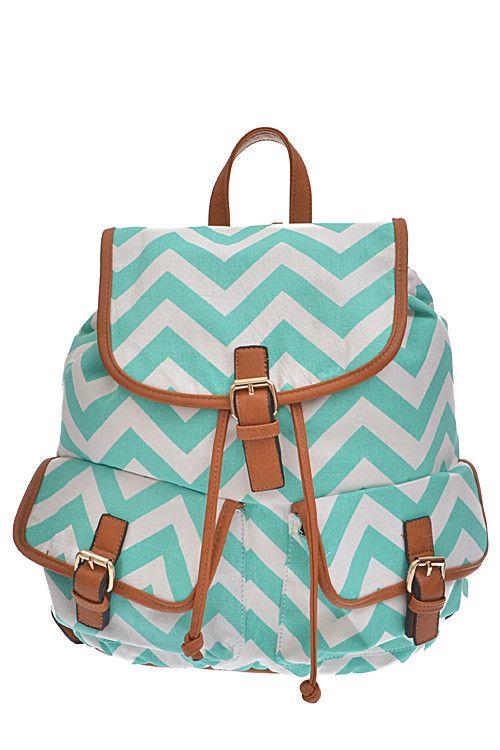 Chevron Backpack Purse | The Shopping Bag
