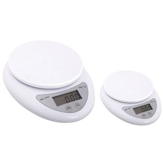 INSTEN 11-pound White Digital Kitchen Scale (Pack of 2) | Overstock.com Shopping - The Best Deals on Food Scales
