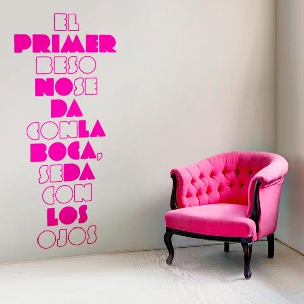 120 best textos vinilos decorativos images on pinterest - Vinilos decorativos textos ...