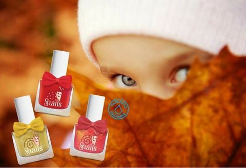 Choose among 44 #safe & #vibrant #colors your favourite one for this fall!! The world's most #natural children's #nail polish will be welcome at any play date because SNAILS #Kids lets your #children #colour their world and their nails with safe simplicity.