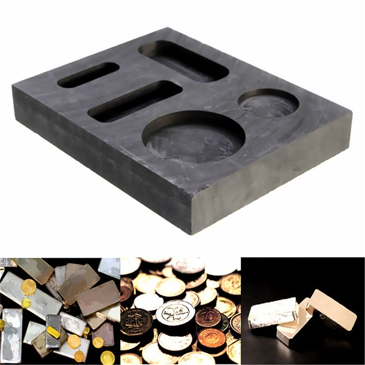 1OZ GOLD Crucible Graphite Ingot Bar Round Coin Combo Melting Metal Bar Molds Melting Ingot Casting Refining Scrap Tool Parts  EUR 4.98  Meer informatie  http://ift.tt/2yn9Zow #aliexpress