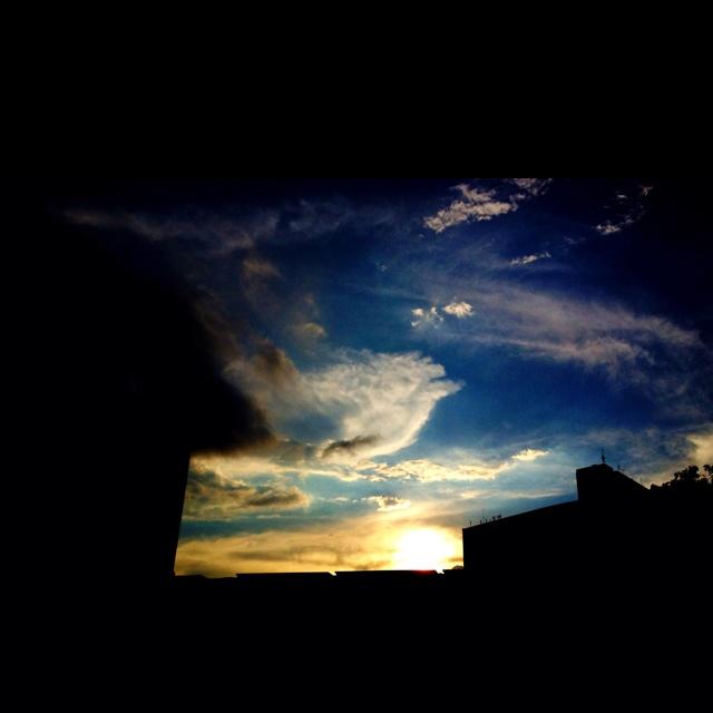 Sunset @ 29 Feb 2012