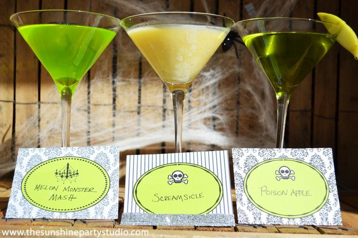 17 Best Images About Halloween Cocktail Party On Pinterest