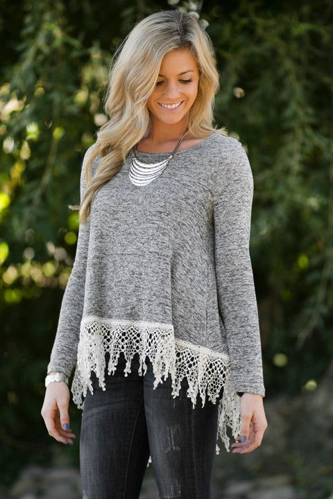 Cara Crochet Tunic