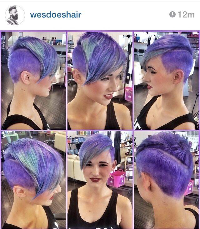 Purple faux