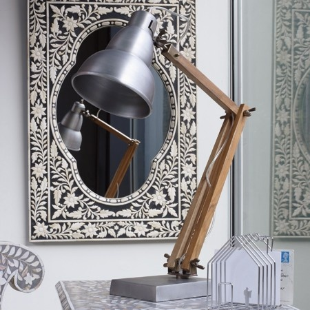 Wooden Desk Lamp £169.00
