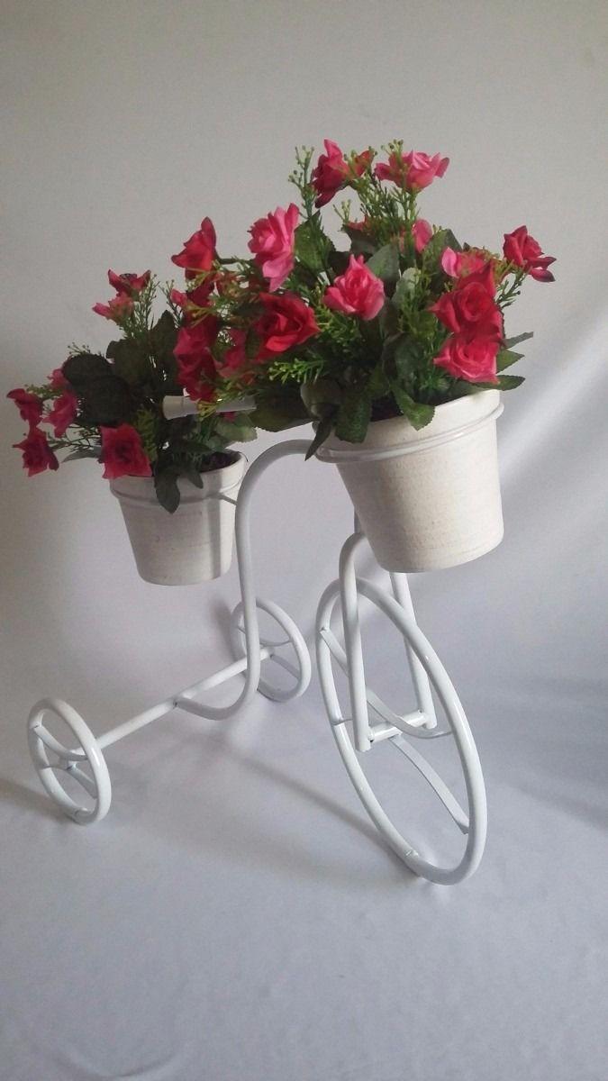 bicicleta decorativa para jardim com vasos decora??o de ...