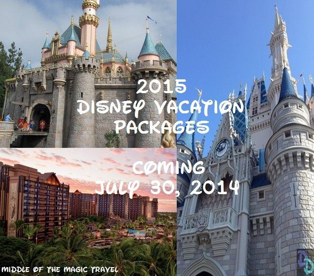 2015 Disney Vacation Packages Are Being Released On Wednesday - Doctor Disney