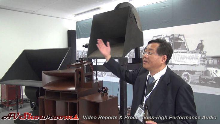 The First Western Electric Loudspeakers, and Silbatone, High End 2014 Mu...