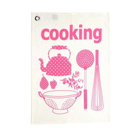 2 TRAPOS COOKING FUCSIA
