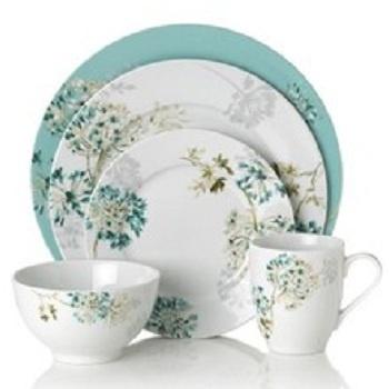 Mikasa Dinnerware Teal Silk Floral Collection \u2013 Casual Dinnerware \u2013 Dining \u0026 Entertaining \u2013 Macy\u0027s  sc 1 st  Pinterest & 109 best Fine Bone China Dinnerware Porcelain Ceramics images ...