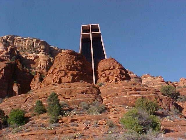 Arizona Chapel Of The Holy Cross Sedona Travel Memories
