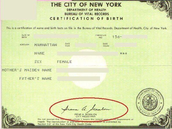 where do i order a birth certificate