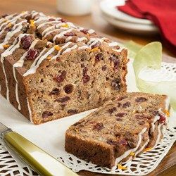 This super moist holiday loaf will help you ring in the fall and holiday season with warm pumpkin spice and seasonal cranberry!  Bake one for snacks and breakfast at home, but remember that mini loaves make great holiday gifts for co-workers!