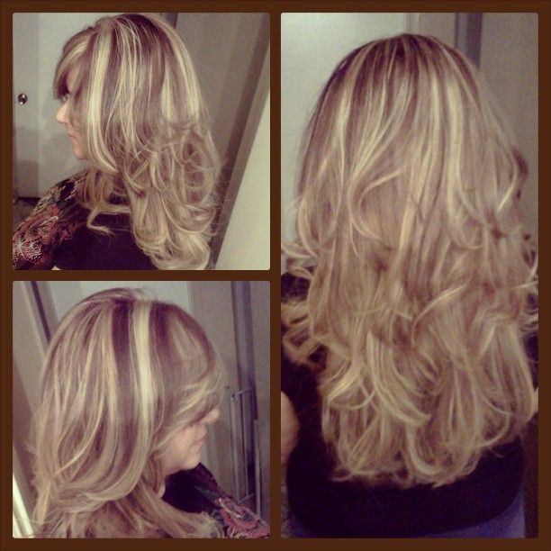 Dark Ash Blonde And Light Ash Blonde Highlights Thick