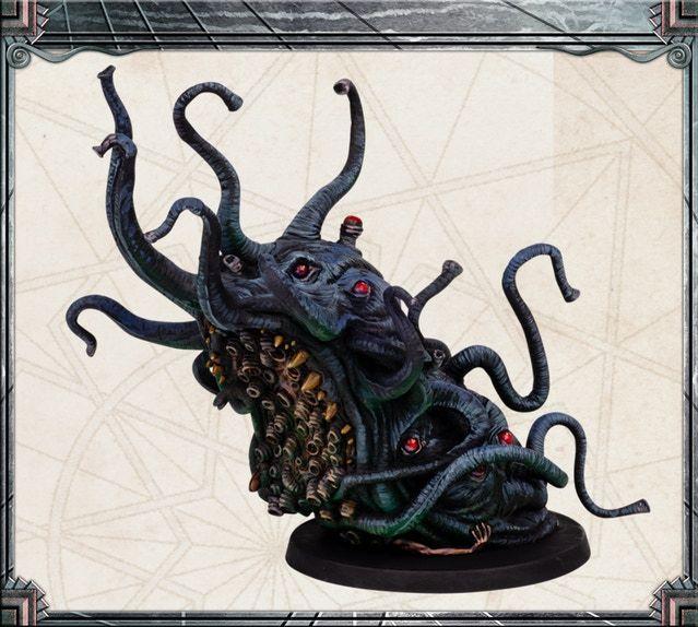 Cthulhu a Morte Pode Morrer Shoggoth Cthulhu Mythos Terror Boneco Em Miniatura Novo!!!