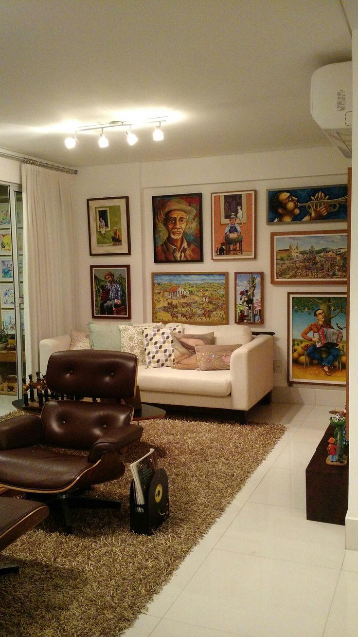 Sala Com Tv Giratoria ~ Sala de estar com poltronas giratórias, que se voltam para a TV ou