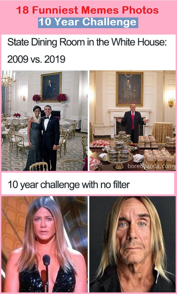10 Year Challenge Meme Fbi