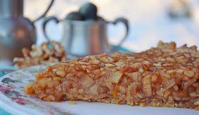 Troll a konyhámban: Diós almás pite vanília szósszal - paleo
