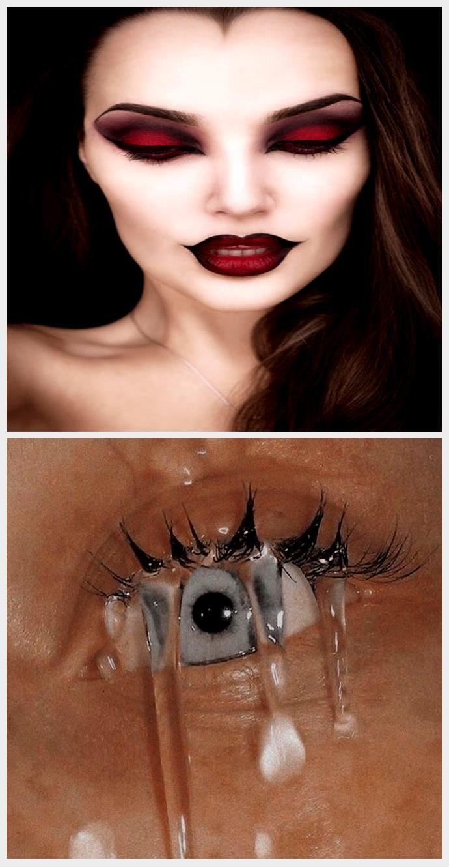 Maquillaje para Halloween ¡produce con lo que tienes en