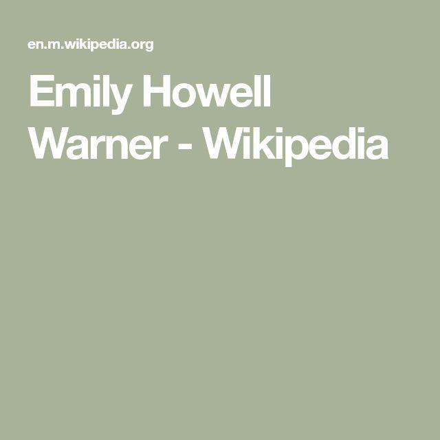 Emily Howell Warner - Wikipedia