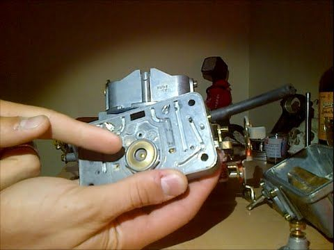 How To Adjust The Accelerator Pump On Holley Carburetors - YouTube
