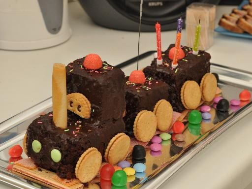 Amour de petit train d 39 anniversaire recipe photos cuisine and trains Gateau anniversaire garcon