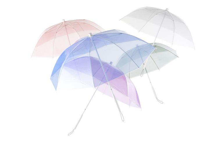 ビニール傘の常識を覆すオールプラスチック製のおしゃれ傘が誕生