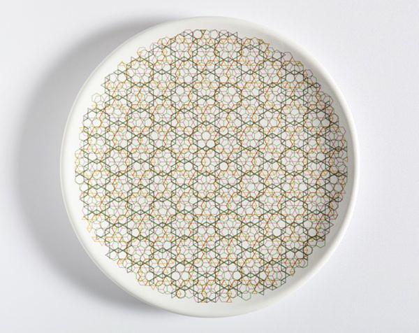 Piatti Tipici assiette graphique par Marta Lavinia Carboni | Blog Esprit-Design : tendance Design / Deco