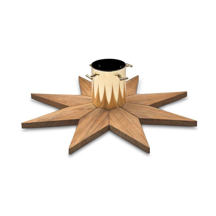 Skagerak Juletrefot Ø50x15cm, Teak - - Skagerak - RoyalDesign.no