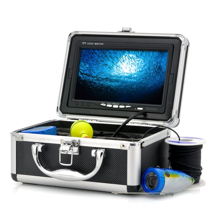 Underwater Fishing Camera - Fishing Camera with 7 Inch LCD Monitor, 15 meter camera cable and video/picture recording mode. Record stunning underwater footage with this fishing camera and increase your catch drastically.    Gone are the days of dropping bait and long waiting periods with no action when fishing. Thanks to...