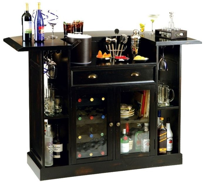 63 best modern home bars images on pinterest basement for How to build a mini bar cabinet