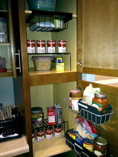 How To Organize Kitchen Cabinets Me Pinterest