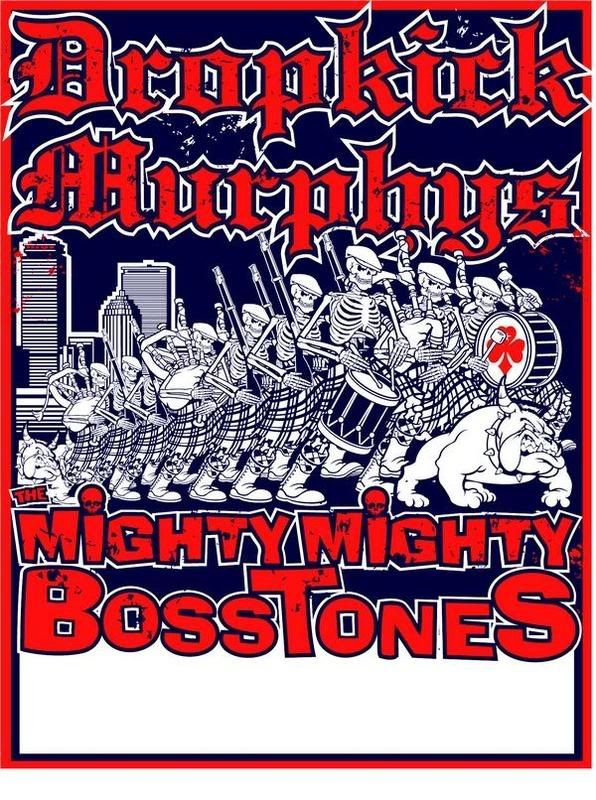 Dropkick Murphys, Mighty Mighty Bosstones, the Vandals - Costa Mesa 2008