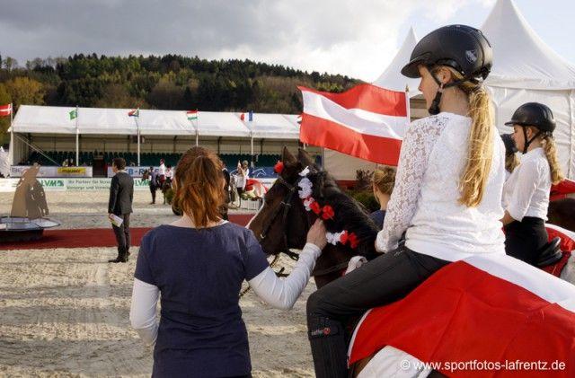 Ponys aus Österreich durften auch nicht fehlen. © Stefan Lafrentz