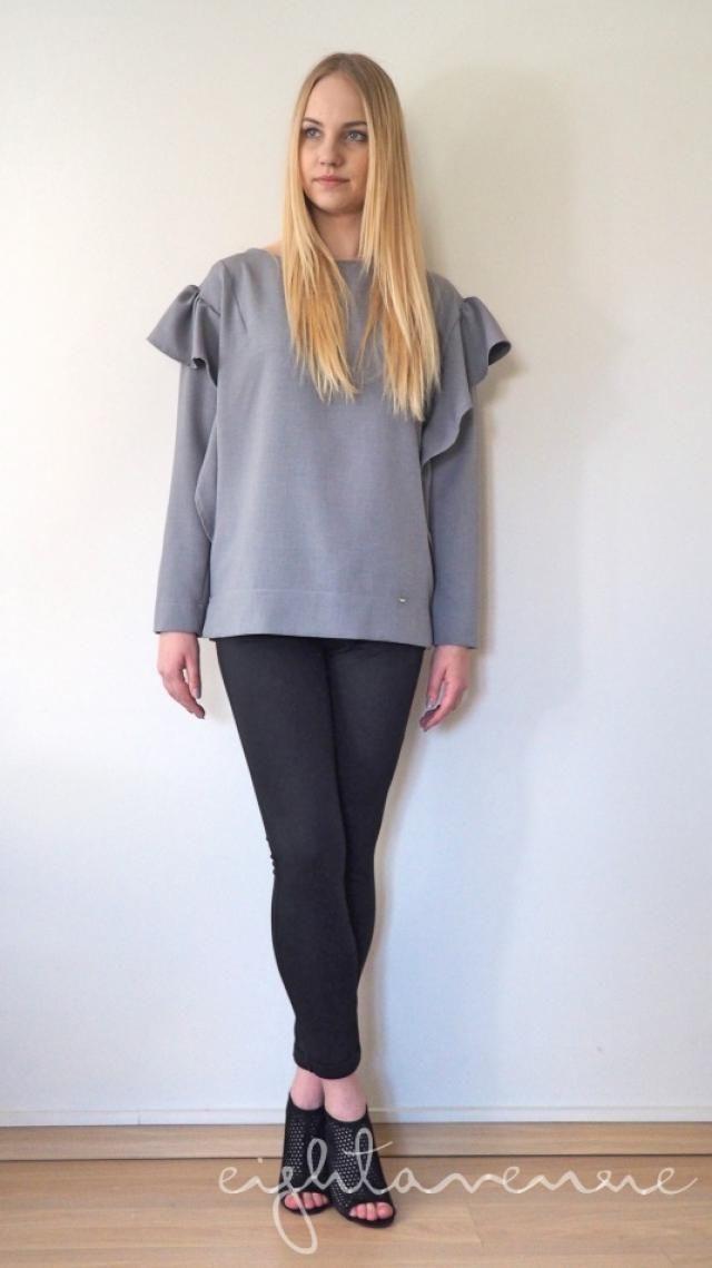 eightavenue.pl - Odzież - Koszula z falbankami by o la la