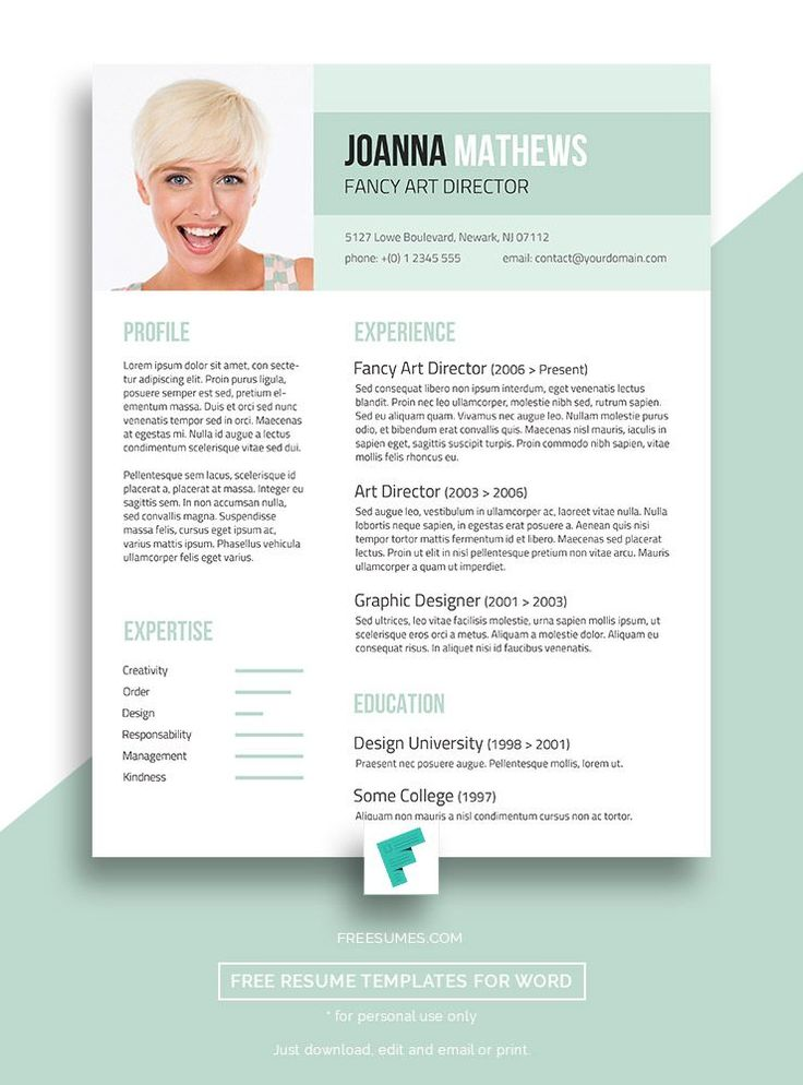 Trendy Resume Template Giveaway U2013 Sense And Style #free #resume #template  Resume Template With Photo