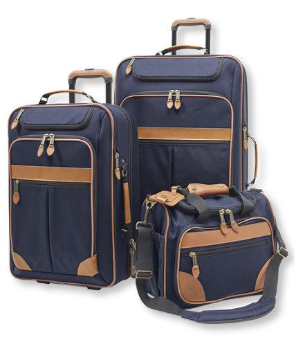This luggage was originally designed more than 75 years ago for sportsmen who needed a reliable way to get gear and clothing to their next hunt, but you don't need to be a hunter to appreciate the innovations we've added since. Set includes one Medium and one Extra-Large Pullman and Accessory Bag.</p> <p><b>Medium and Extra-Large Pullmans</b>These rolling Pullmans are 10% lighter than the previous models thanks to a compressed, molded back panel, wrapped in the rugged 1000-de...