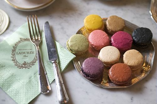 Ladurée Paris, Macaroons, Food, Paris France, French Macaroons, Colors Palettes, Places, Macaroons Recipe, Ladure Macaroons