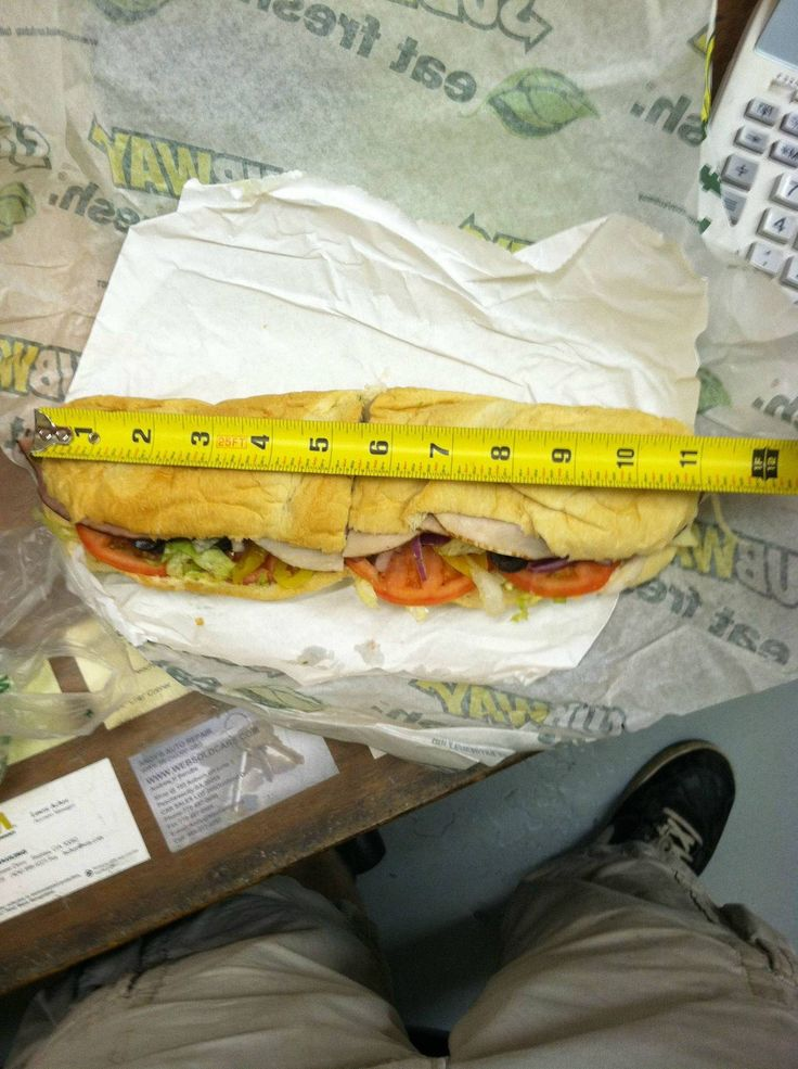 What the fuck Subway?: Subway Footlong, Funny Pictures, Funny Stuff, Trust Issues, Subway Sandwiches, Foot Long, Cold Sandwiches, 11 Inch, Hot Dogs