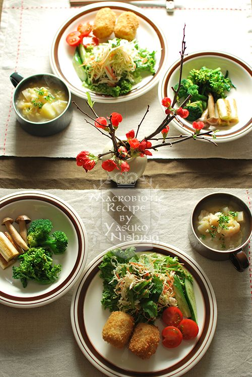 コロッケ和定食