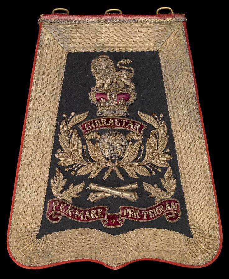 Royal Marine Artillery uniform: pattern 1872.
