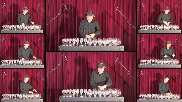 Robert Tiso plays Boléro by M. Ravel with multitrack Glass Harp Orchestra. Track…