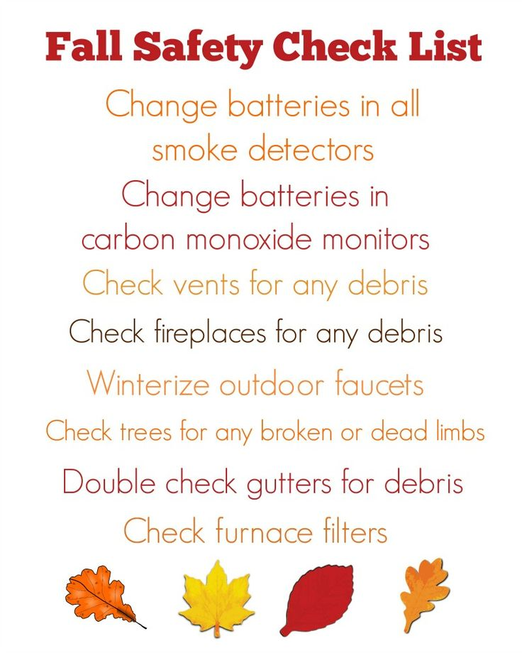 Best 25 home safety checklist ideas on pinterest safety use this free fall safety checklist to make sure you home is ready for the fall sciox Choice Image