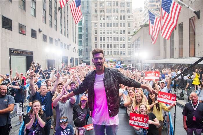 [SPOTTED] #Inflatable #SeatedBallerina makes a stunning backdrop for Andy Grammer @TODAYshow Citi Concert http://landmktg.com/2tokbim?utm_content=buffer8a551&utm_medium=social&utm_source=pinterest.com&utm_campaign=buffer #GiveLove
