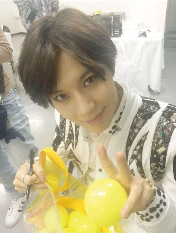 """SHINee fun Scenario. What If I were suddenly paranoid of Taemin's Warlock powers. """"Why Yes Taemin, I'd love to take that yellow ball, but, but why are you looking at me like that? Your face is so intense...exactly what must I do for that yellow ball?..Gaasssp! What does that yellow ball do to me? Sorry Taemin, really, it's not you your an angel, it's those YouTube truthers that have me a little spooked. I'll start over, What the hell is up with that yellow ball Taemin!!! I mean seriously!!!""""…"""