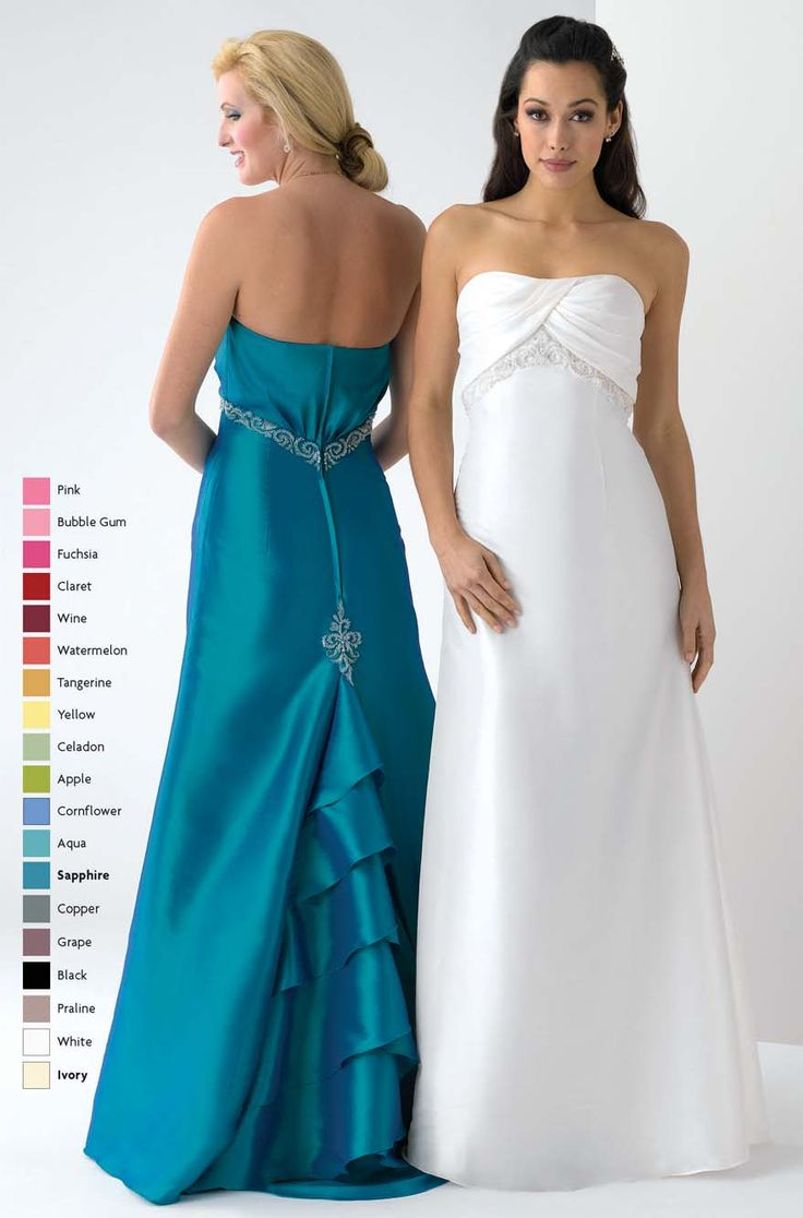 New Cheap Peacock A Line Strapless Lace Up Floor Length Prom Dresses With Ruffles and Embroidery